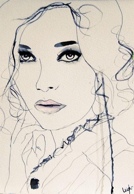Twilight Blue- Art Print
