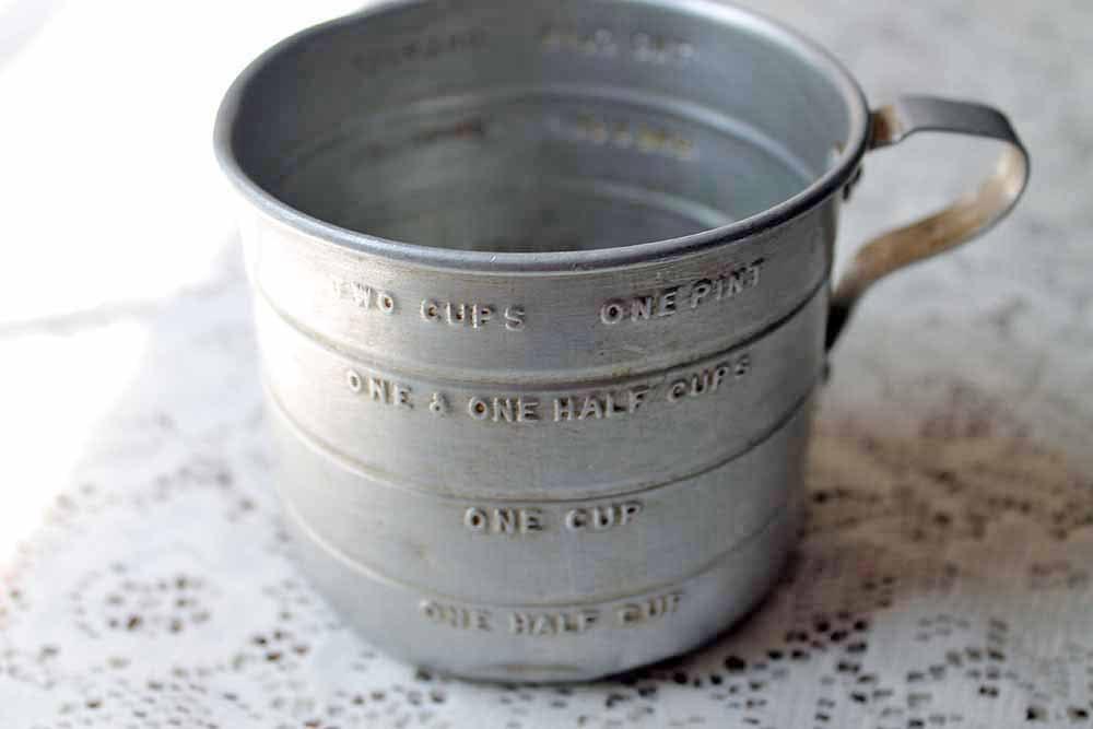 Vintage Measuring Cup 21