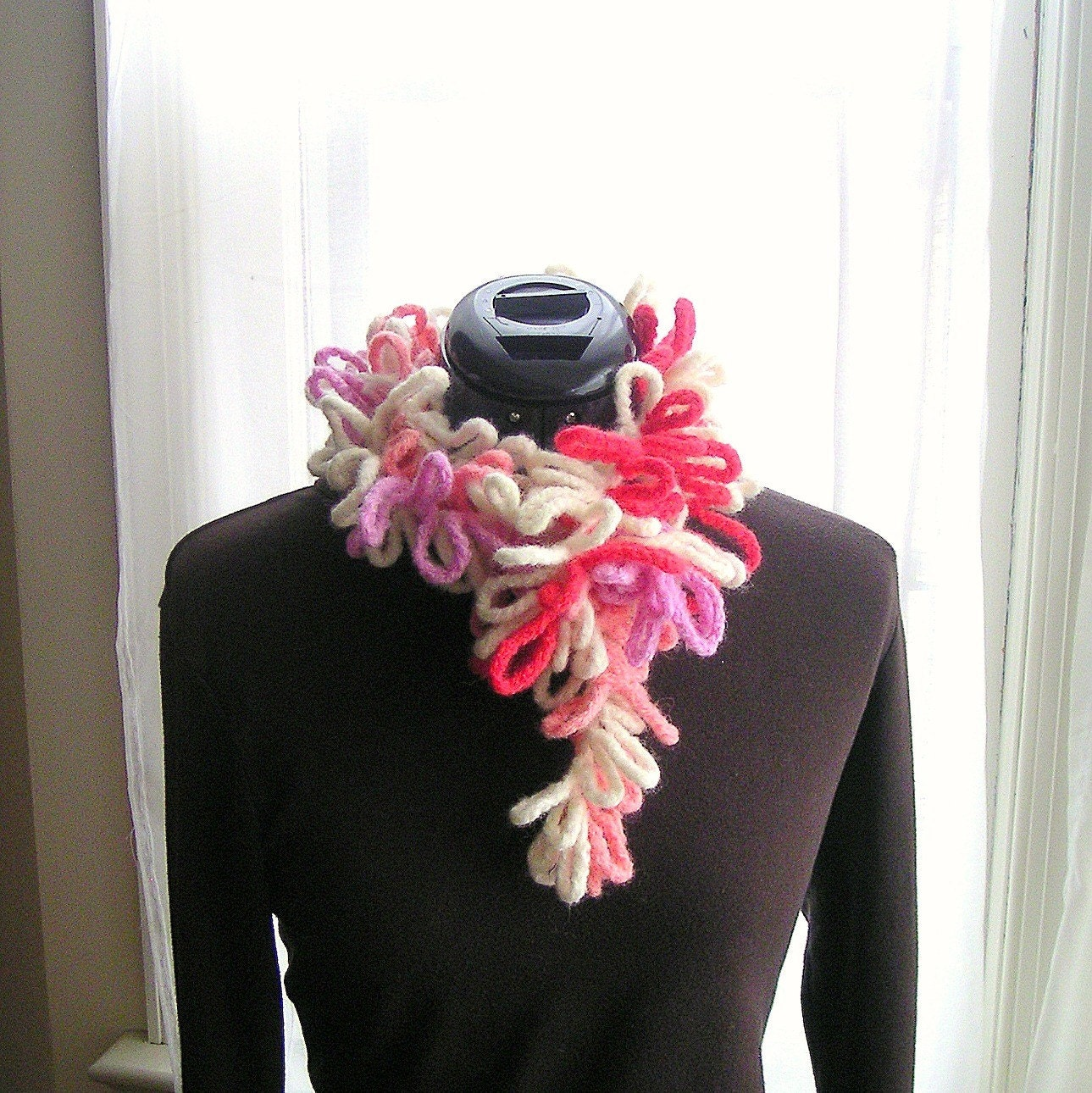 Crochet Scarf Pattern Tutorial pdf, Felted Scarf Crochet Pattern, Easy ...