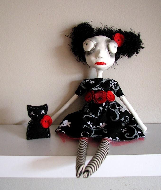 Emmaline art doll