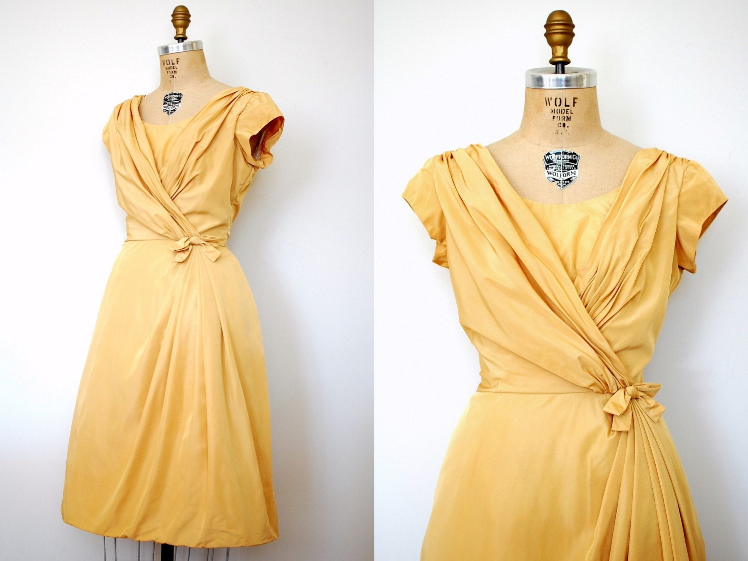 vintage 1950s The Plot Thickens Dress (50s)