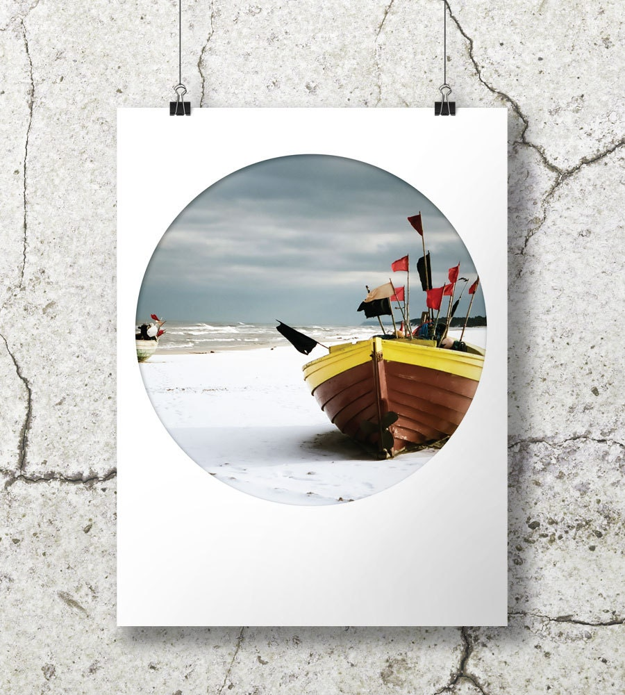 Popular items for seascape decor on etsy for Circle fishing boat
