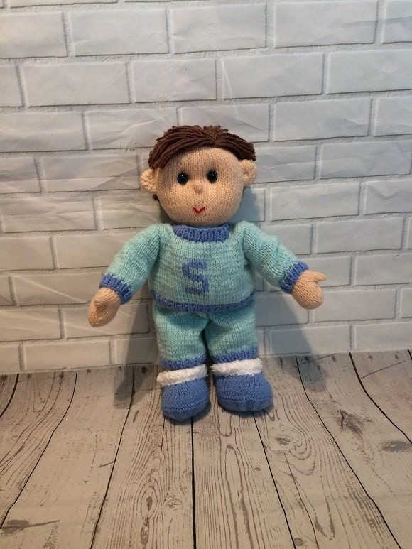 Bedtime Buddies Knitted toy CE Certified Nighttime pal Suitable from birth Keepsake doll Gift for baby childrens gift plush toy
