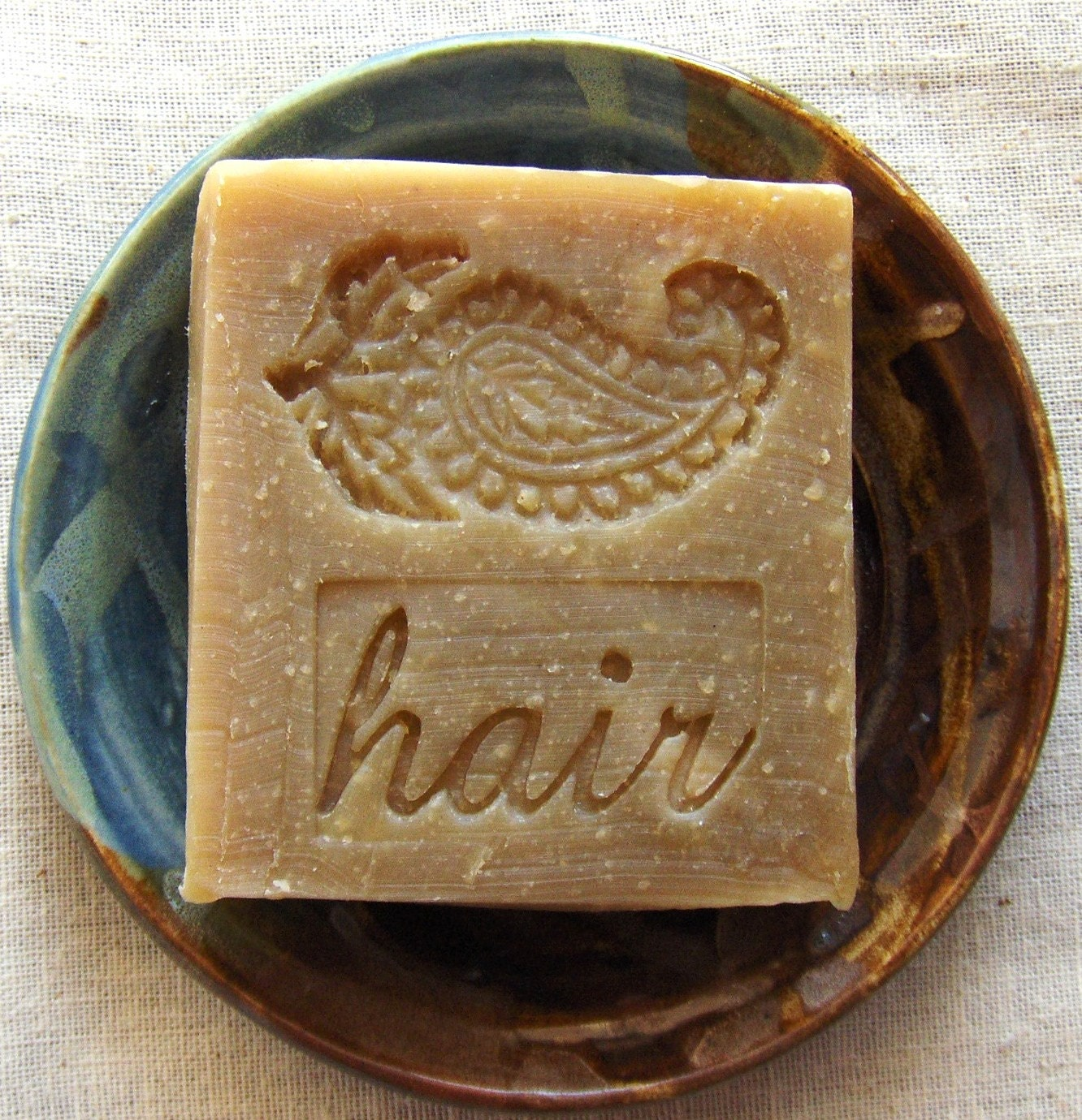 Henna Shampoo Bar with Jojoba - Unscented Shampoo Bar - Vegan Shampoo Bar - SLS free - No animal testing - AquarianBath