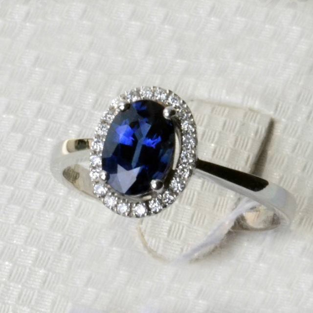 engagement ring 1 8 carat sapphire ring with by stevejewelry
