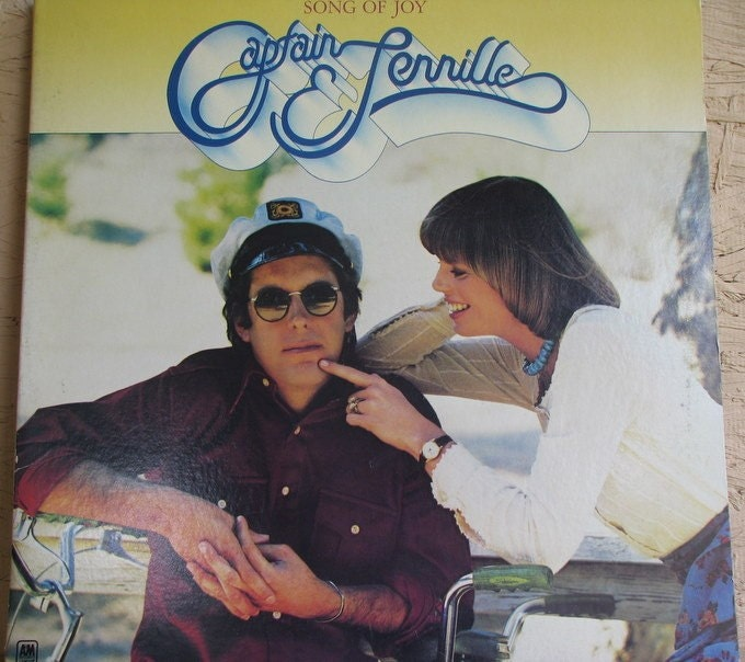 vintage album The Captain and Tennille Song of Joy