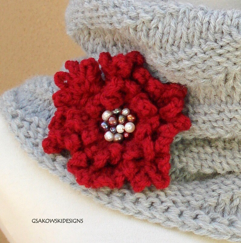 Two Flower Pins-Reserved listing for wildberryjewellery