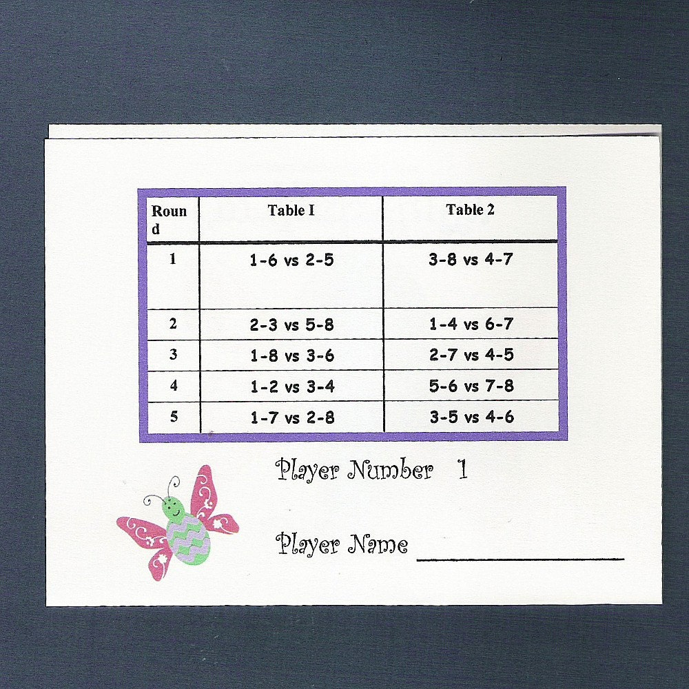 bridge tally template bridge score cards template 28 images mystery memory
