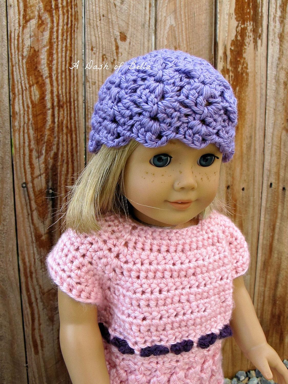 Crochet Pattern Central American Girl : Items similar to American Girl Crochet Hat Pattern on Etsy