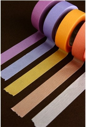 Colorful Masking Tape from Japan Washi tape