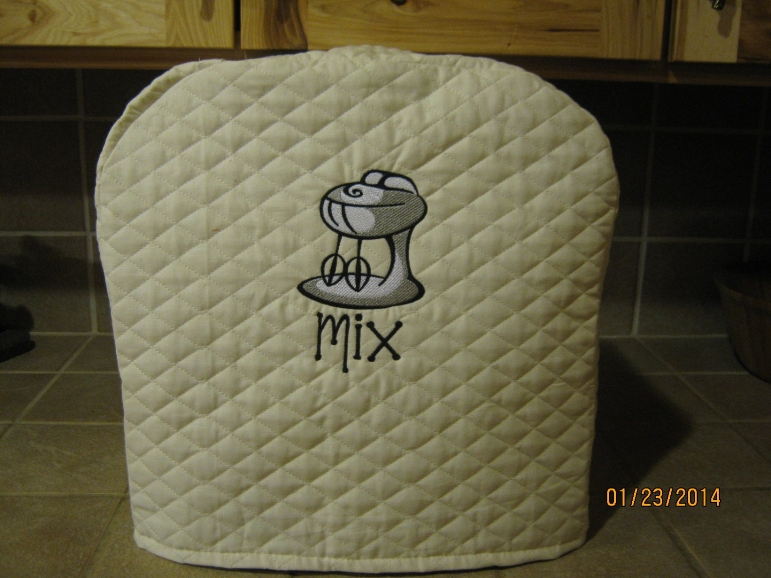 Mixer cover will fit Kitchen Aid mixer by SewnbyStacy on Etsy