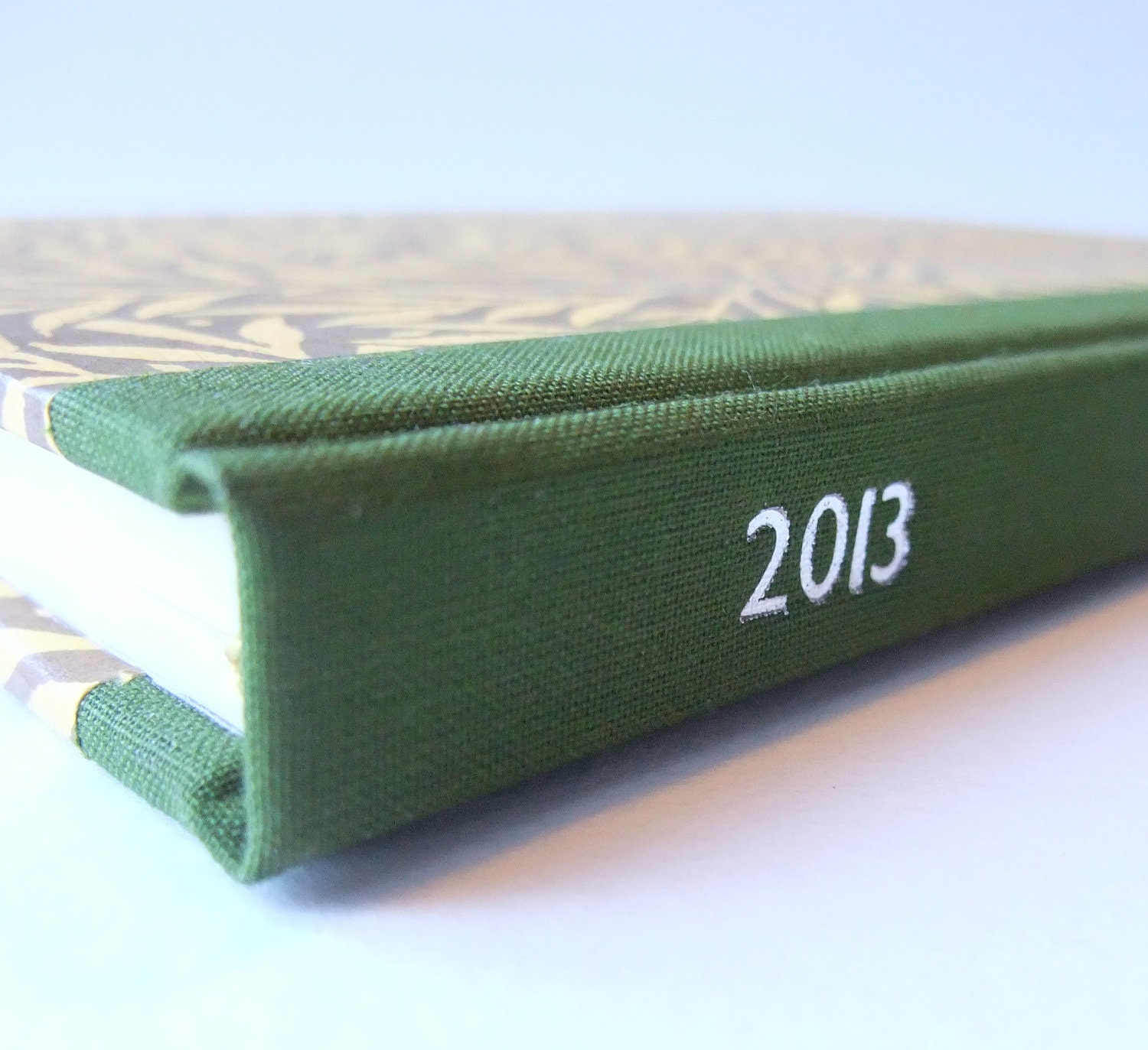 NEW LARGER SIZE: 2013 Diary with Decorative Paper Covers - HandMadeBooks