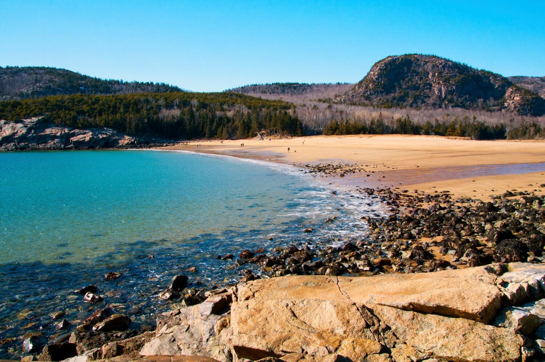 Sand Beach photos, Acadia National Park photos, Maine photos, Glenn Gordon photos, ocean photos, 8x10 photos, landscape photos