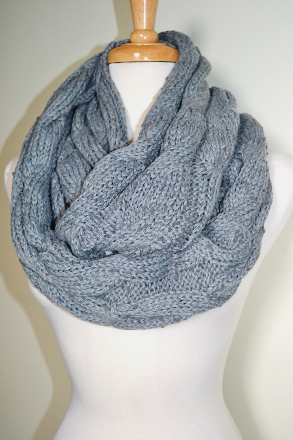Free Knitting Pattern Chunky Cable Scarf : Chunky Cable Scarf Pattern Patterns Gallery