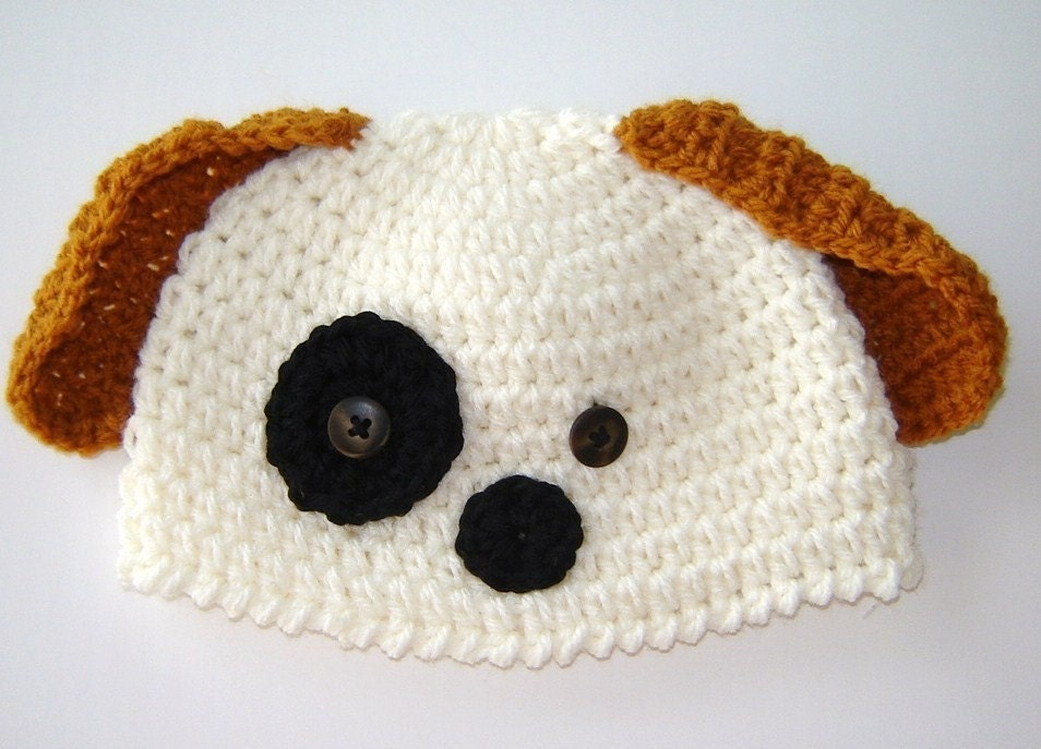 Crochet Pattern Baby Dog Hat : CROCHET DOG HAT ? Crochet For Beginners