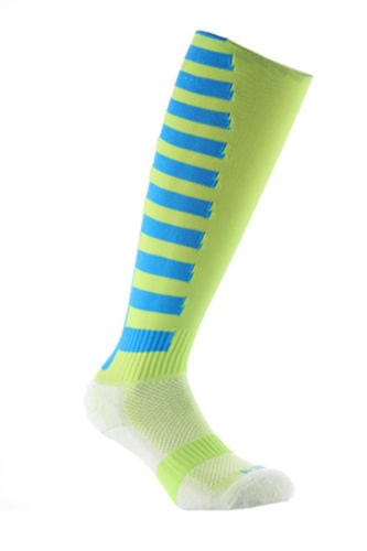 Samson Sport Stripe Funky Socks Sport Knee High Sport Football Rugby Soccer