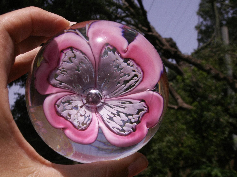 Murano Flower Paperweight
