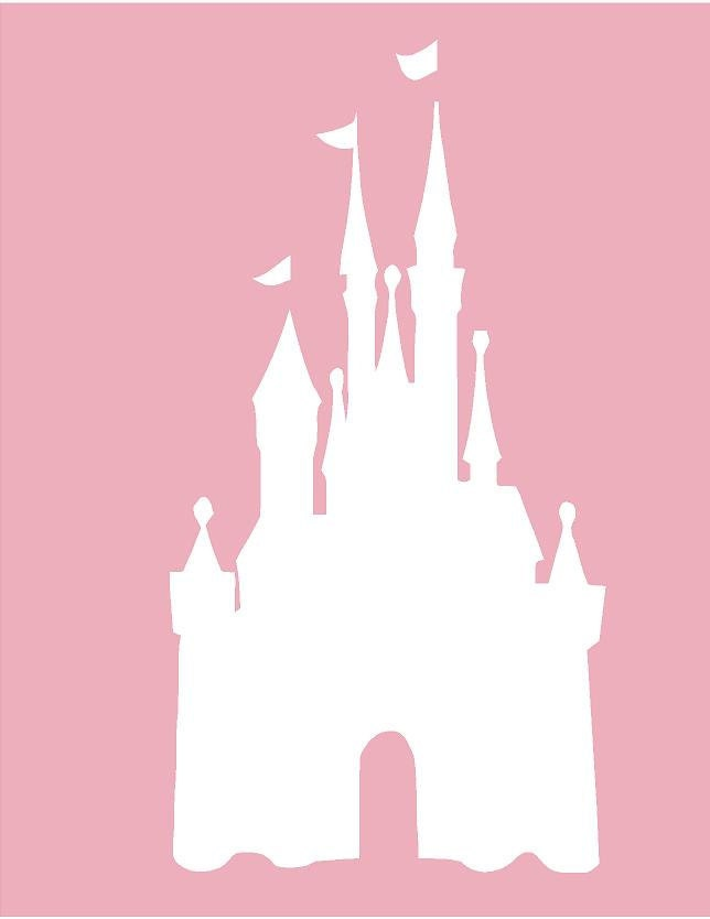 disney castle silhouette wall decal