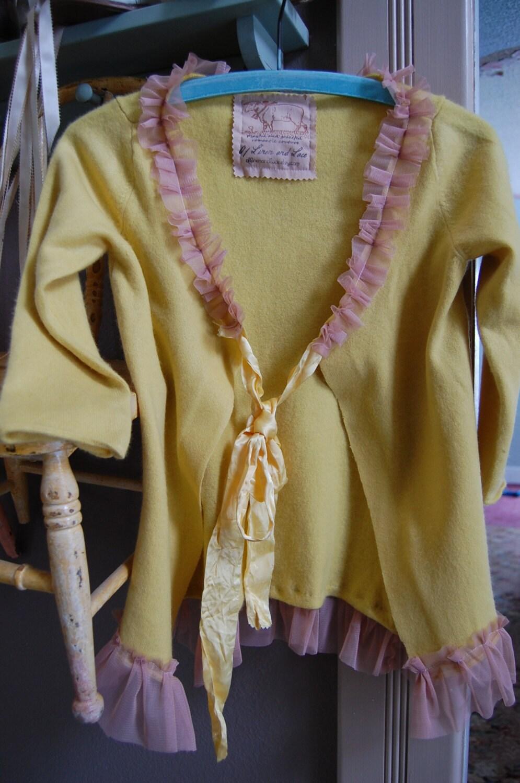 Golden Cashmere Sweater Luxury Womens Clothing Wool Cardigan Shabby