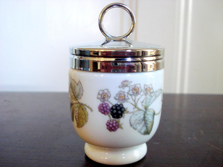 Vintage Royal Worcester Egg Coddler By Bedglassandbeyond