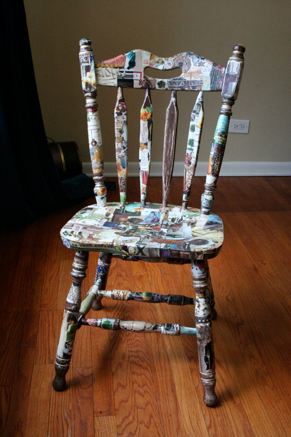 Anthro-pop Chair - TheBricolageSisters