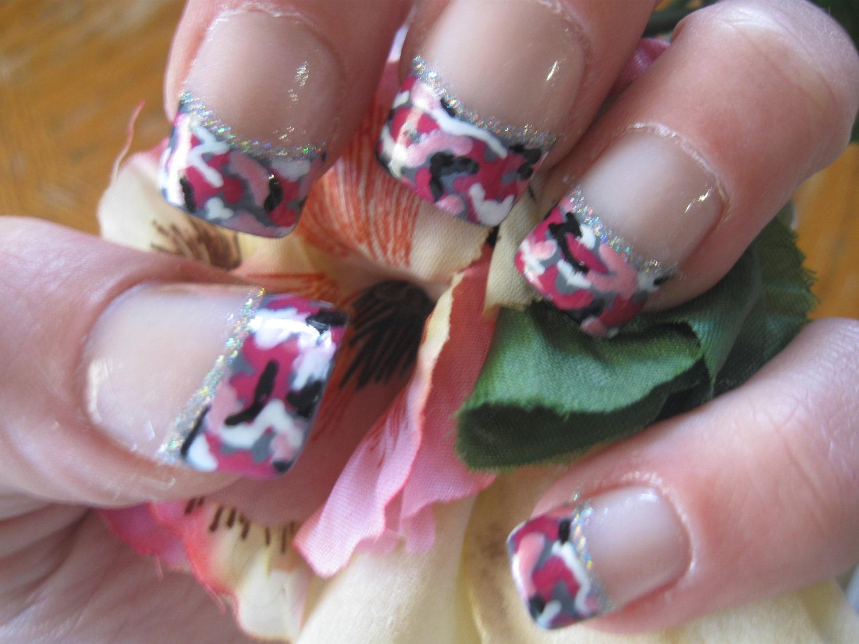 Nail designs pink camo pink camo nails camo nail art nails brawler pinkcamo pink view images realtree prinsesfo Image collections
