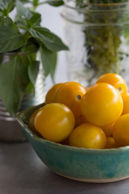Heirloom Farmer Hermans Little Yeller Tomato Seeds - MoonlightMicroFarm
