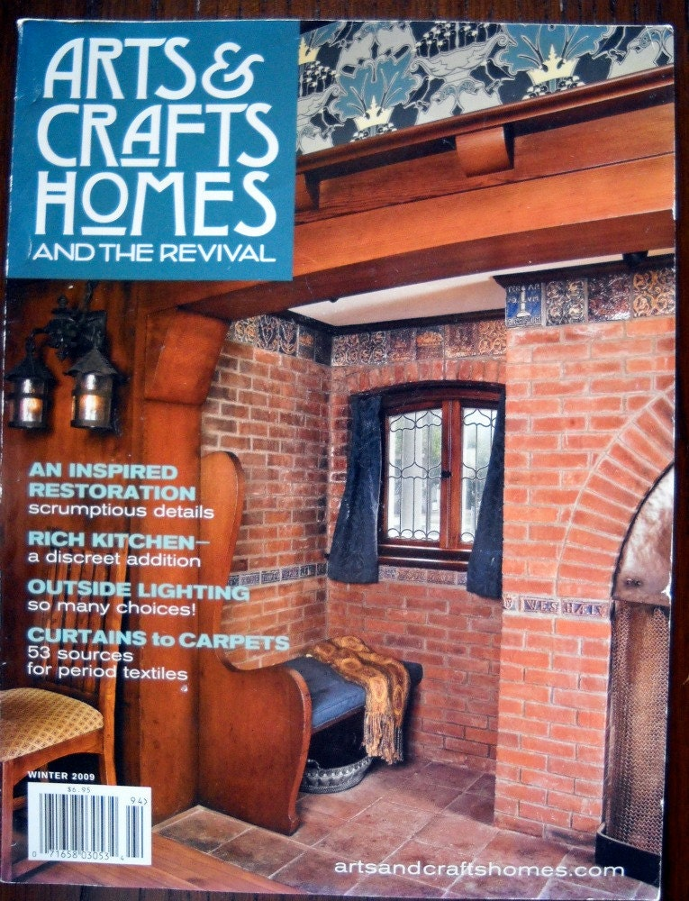 Arts crafts homes and the revival magazine by goodygirlred for Arts and crafts home magazine