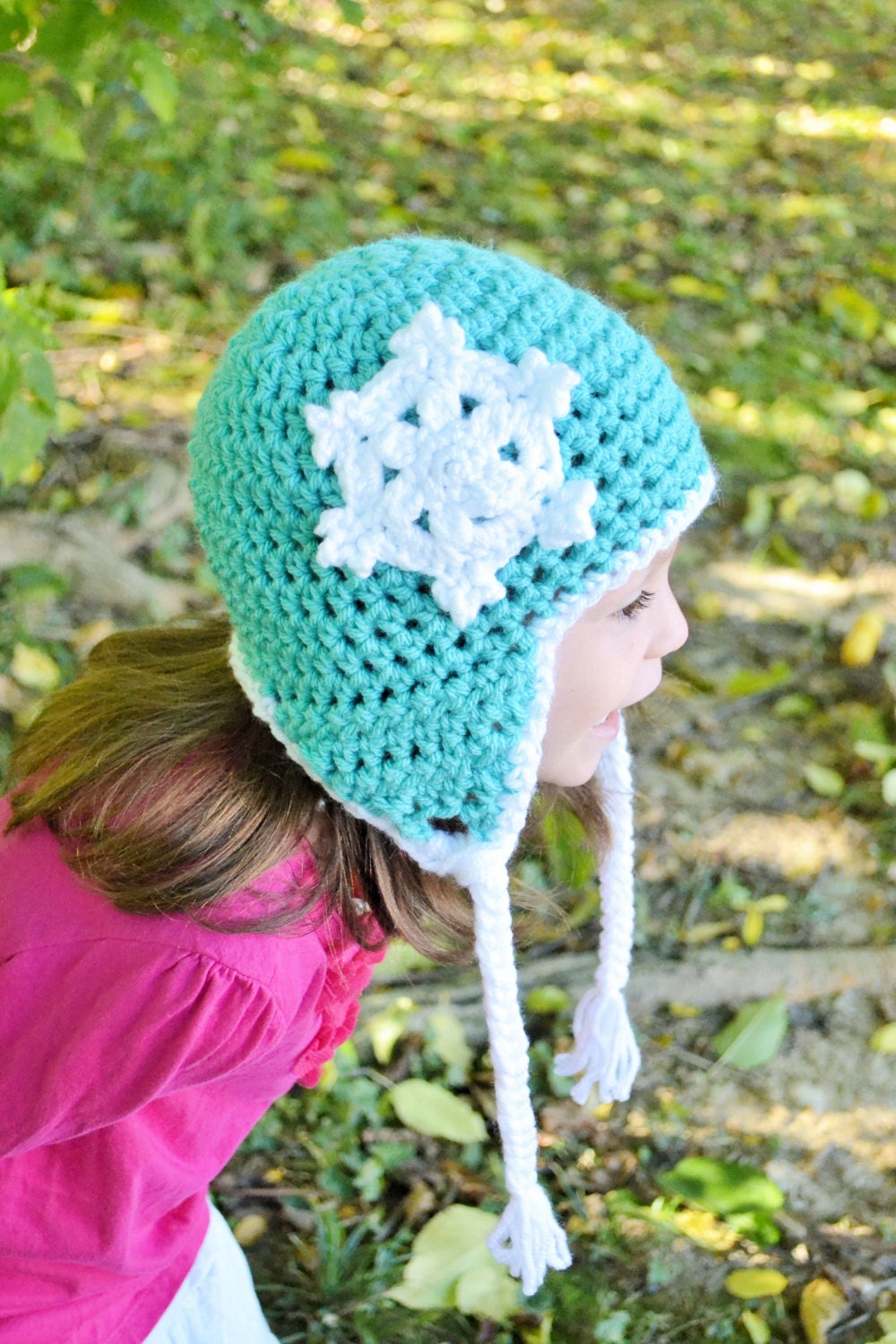 The Snowflake Earflap Hat - PureGraceThreads