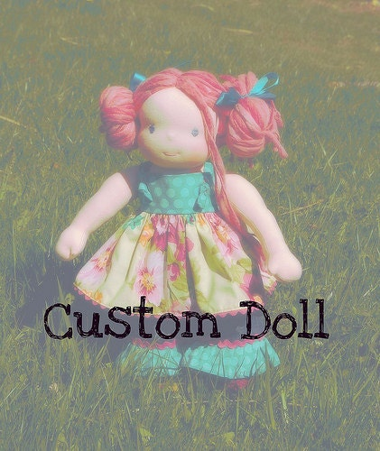 "Custom 12"" waldorf doll for mmlg1713"
