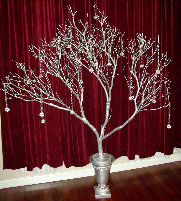 Tree branch centerpieces