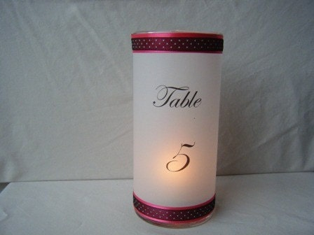 Table Number Luminary