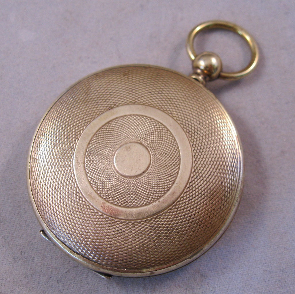 antique civil war era pocket locket by