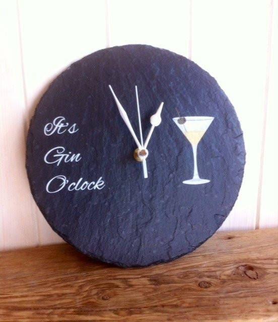 Slate Gin o clock