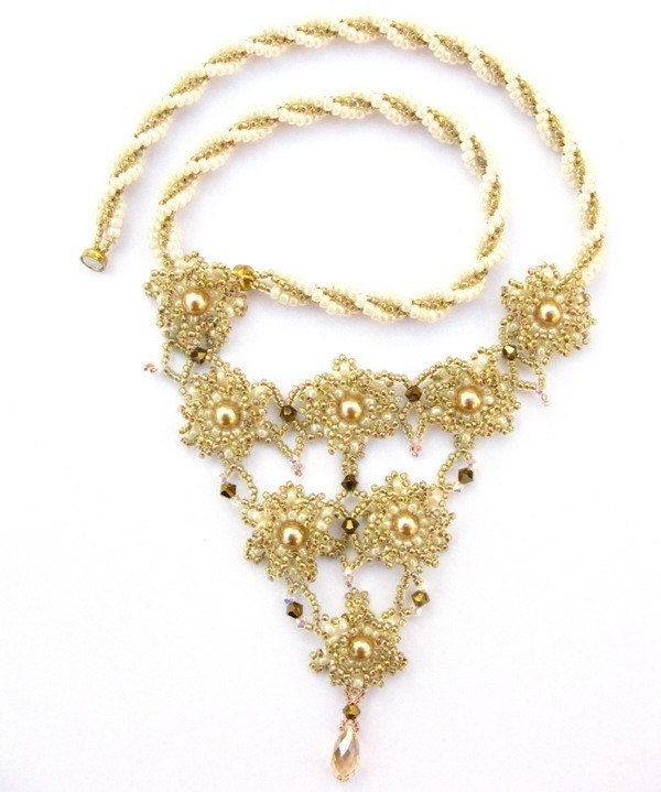 Golden Bloom necklace