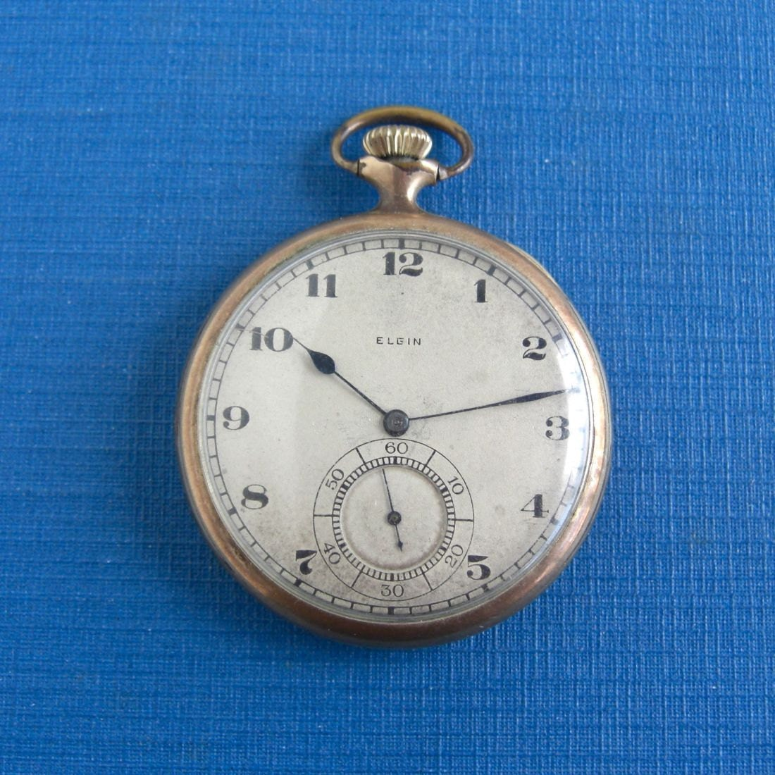 how to open an elgin pocket watch back cover