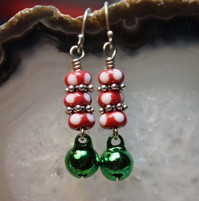 Jingle Bell Christmas Earrings