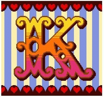 Curious Alphabet Cross Stitch kit  K