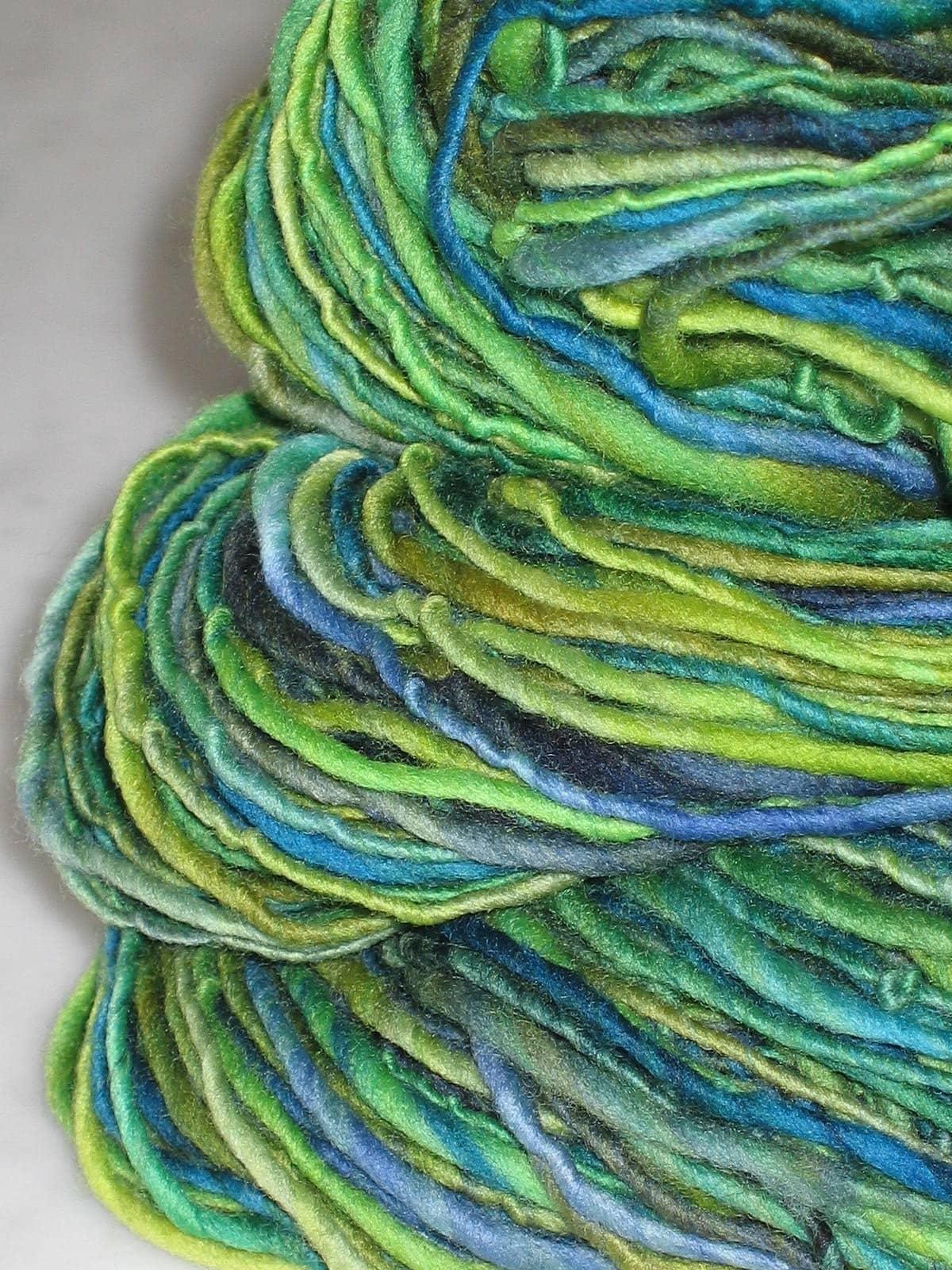 VERDI -handspun and handpainted pure merino yarn by pancake and lulu
