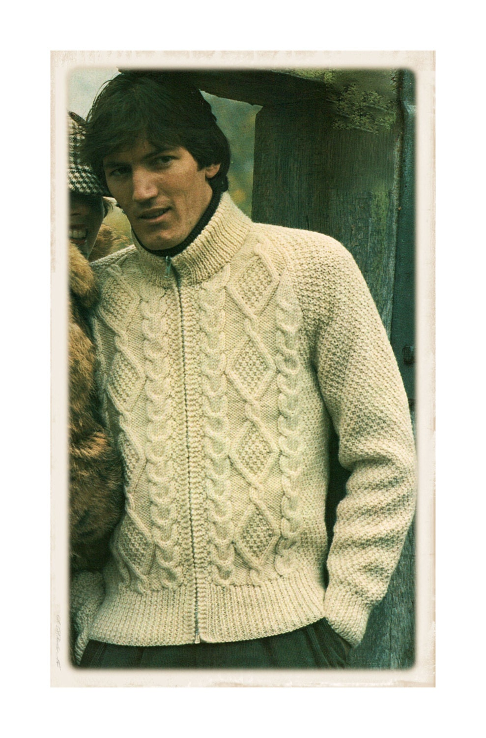 Knitting Pattern Chest Sizes : Popular items for 42 inch chest on Etsy