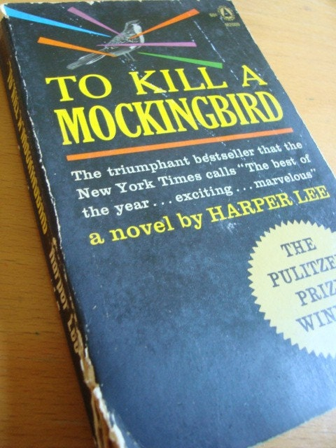 Vintage Book To Kill a Mockingbird