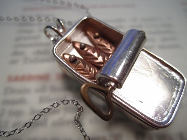 Tin of Sardines Pendant