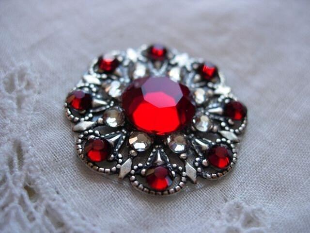 Blood Pinwheel Bindi