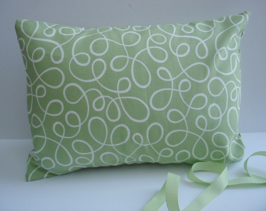 Sage Green Throw Pillow Covers : Pillow Covers Lumbar Sage green Loop Lu by by ThePillowCo