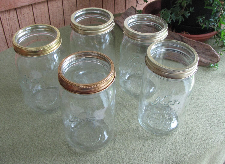 Kerr Self Sealing Mason Jar Hookup