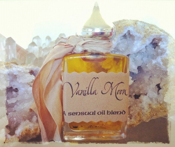 Vanilla Moon Perfume - a sensual perfume and annointing oil blend - TheSageGoddess