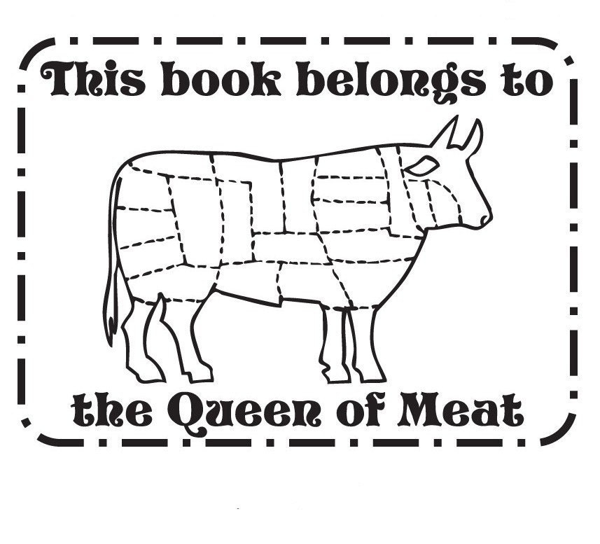 free coloring pages of butcher