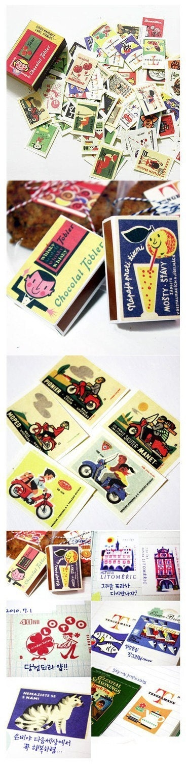 Label Stickers with Match Box - Ver.3 (134 sheets)