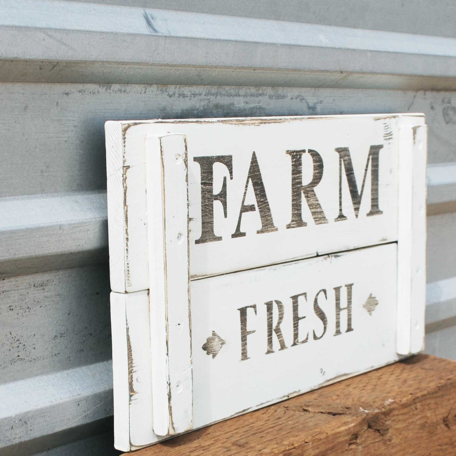 Farm Fresh sign, Farmhouse Decor, Country Market - SummerRoad