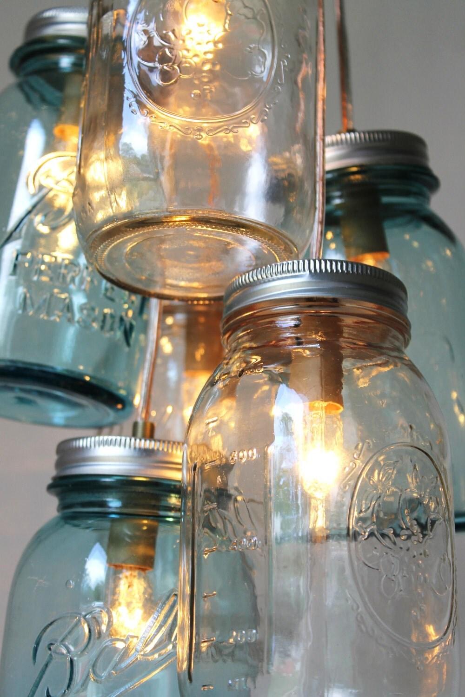 Mason jar lighting etsy oukasfo uniquely crafted mason jar lights amp modern by etsy aloadofball Choice Image